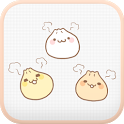 Yummy(Dumpling) go sms theme icon
