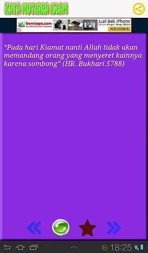 【免費書籍App】Kata Mutiara Islam-APP點子