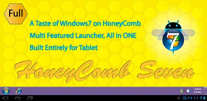 Honey Comb Seven Launcher Full v1.3