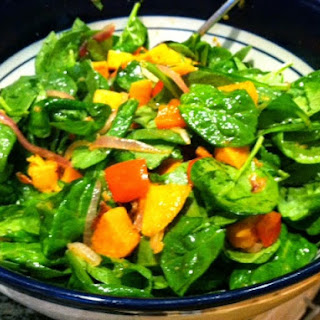 Spinach Sweet Potato Salad