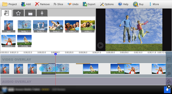 VideoPad Free Video Editor - screenshot thumbnail