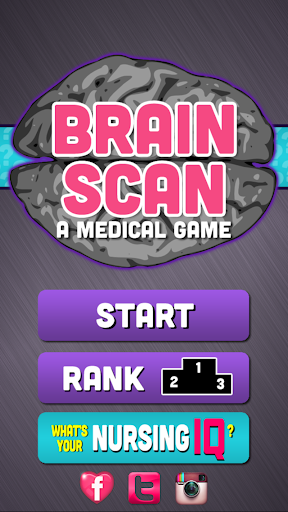 Brain Scan: A Medical Game