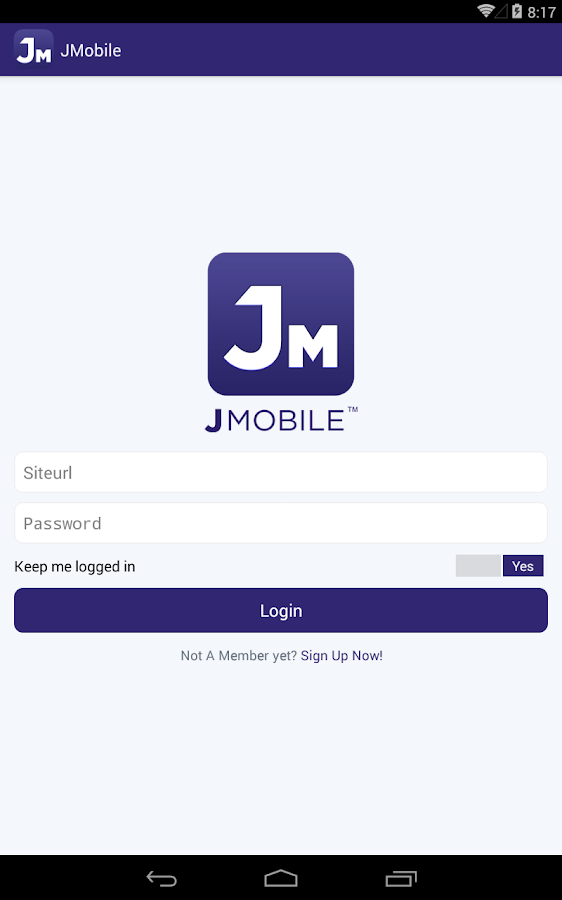 JMobile- screenshot