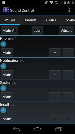 Sound Control Free