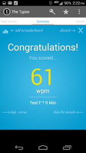 Typist: A Quick Typing Test screenshot 7