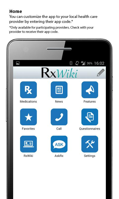 RxWiki - screenshot