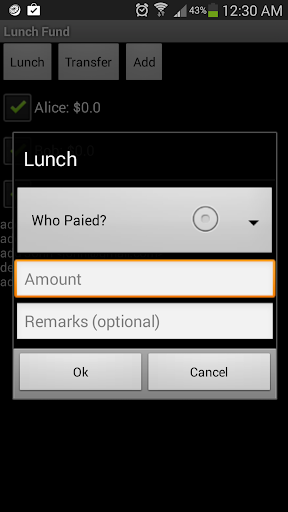 Lunch Fund