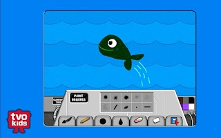 Screenshot of TVOKids Artbot Lite