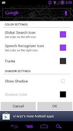 Custom ICS Search Widget Screenshot 3