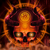 Mystical Skull Live Wallpaper