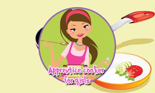 学徒厨师的女孩