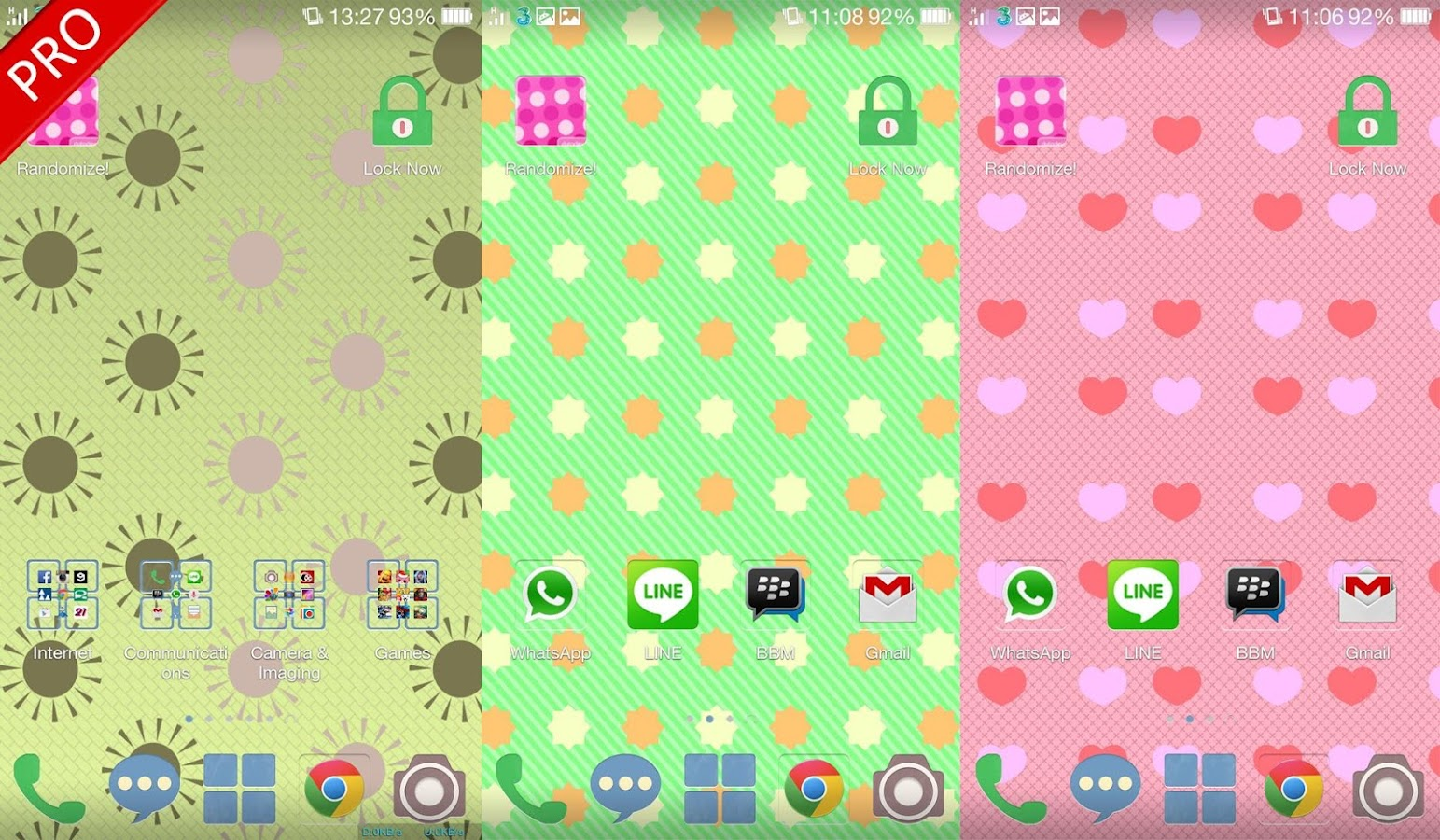 Polka Dots Live Wallpaper - screenshot