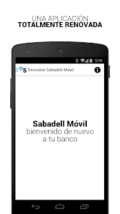 BancSabadell- screenshot thumbnail