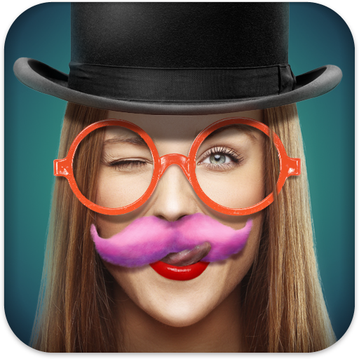 Photo Face Decorator Icon