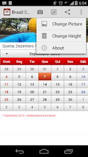 Brasil Calendário 2015 - screenshot thumbnail