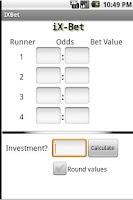 Screenshot of iX-Bet