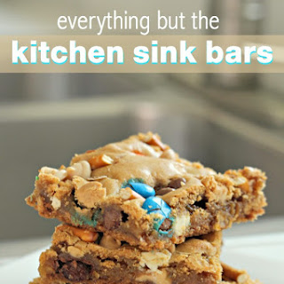 Everything But The Kitchen Sink Bars.