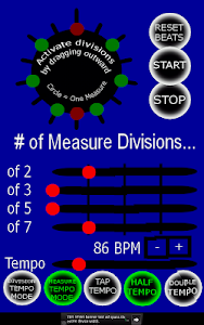 Advanced Metronome screenshot 1