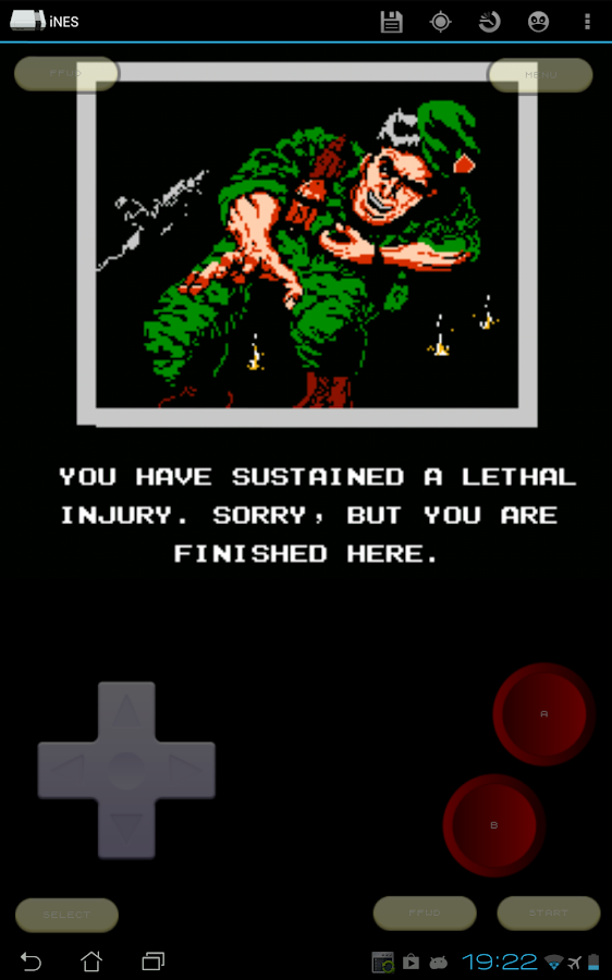 iNES - Nintendo (NES) Emulator - screenshot