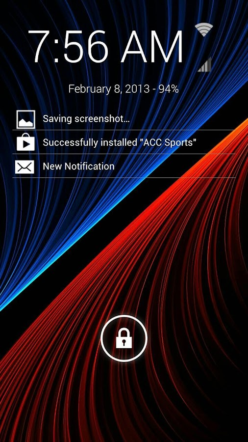 Notification Browser - screenshot