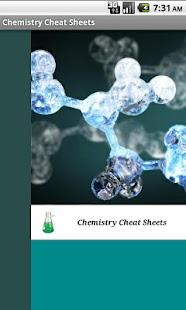 化學作弊表