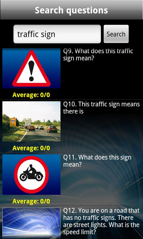 Theory Test UK Free 2015 (CAR) - screenshot