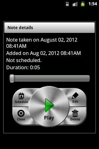 GT Voice Notes & Alarms - screenshot