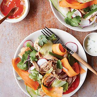 "Spice-Simmered Pork ""Bánh-Mì-Style"" Salad"