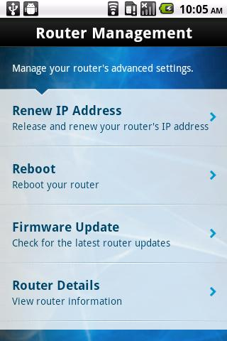 Linksys Connect- screenshot