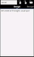 Screenshot of Encrypt Me Messenger Pro