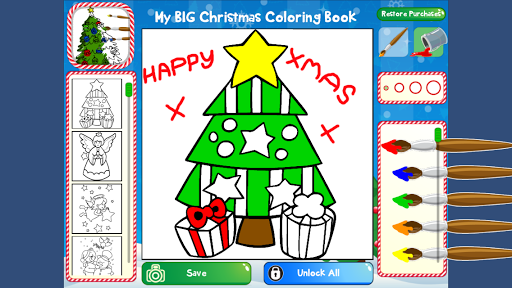 我的圣诞大图画书