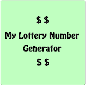 My Lottery Number Generator