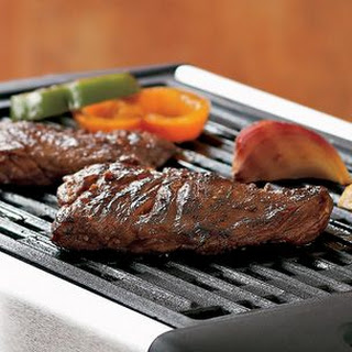 Grilled Marinated Skirt Steak.