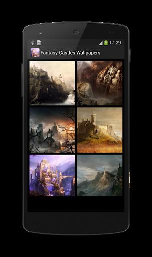 Fantasy Castles Wallpapers HD