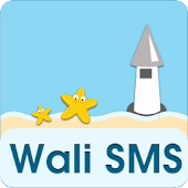 Wali SMS-Beach in memory theme