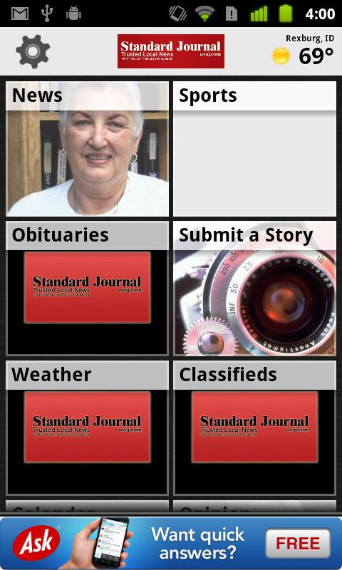 Standard Journal - screenshot