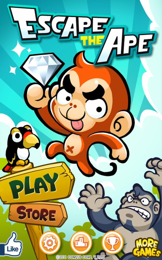 Escape The Ape - screenshot