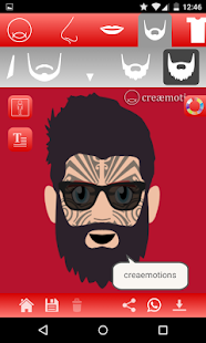 creaemotions avatar creator- screenshot thumbnail