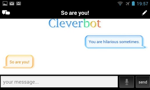 Cleverbot- screenshot thumbnail
