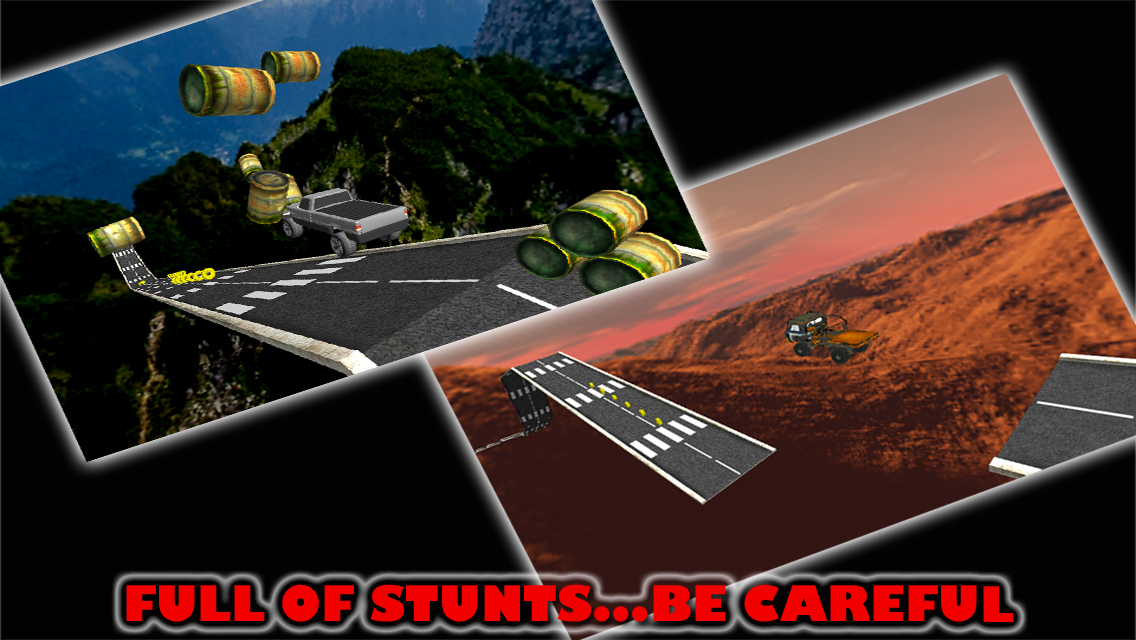 Stunt Car Parking Mania Free- screenshot
