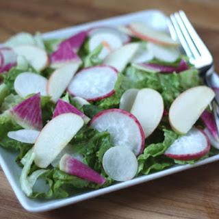 Winter Salad with Meyer Lemon Vinaigrette