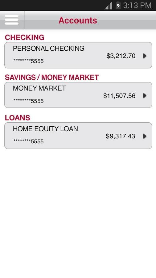 Bank of Oklahoma Mobile - screenshot