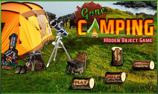 Gone Camping - Hidden Objects