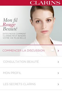 Clarins - screenshot thumbnail