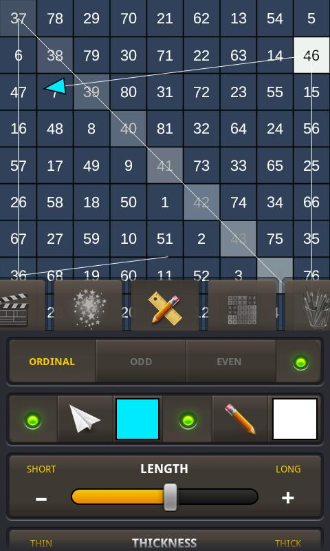 Magic Squares Atlas - screenshot