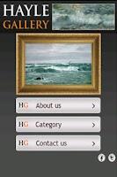 Screenshot of Hayle Gallery