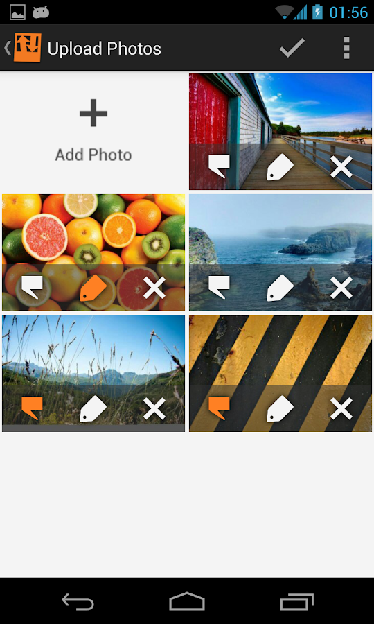 Flick Albums for Facebook - screenshot
