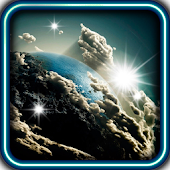 Earth from Moon Live Wallpaper