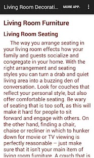 Living Room Decorating Ideas- screenshot thumbnail