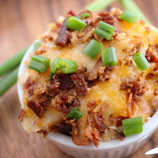 Loaded Mashed Potatoes Bake